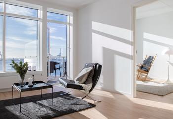 3-værelses lejligheder - Havneholmen Aarhus
